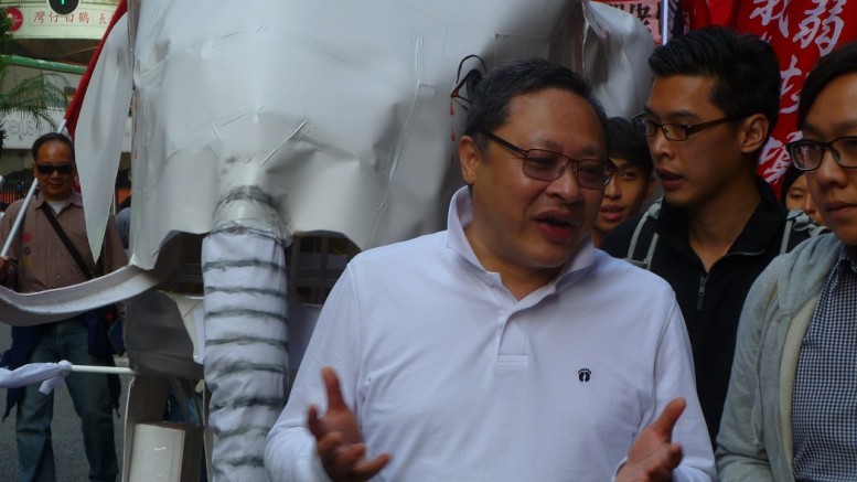 """Benny Tai, university law lecturer and a co-founder of the Occupy Central movement, is championing the """"Thunderquake Plan"""", under which pan-democrats target to win half of Legco seats."""