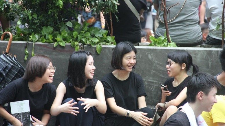 A new generation of youth is emerging in Hong Kong's social movement.