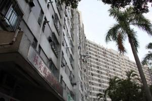 Public housing estate in Tuen Mun.