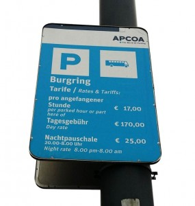 Increase parking fees to limit the use of vehicles in streets.