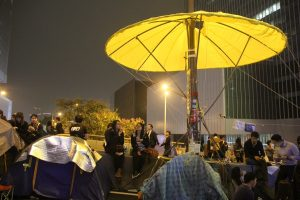 Occupy Central Movement in 2014.