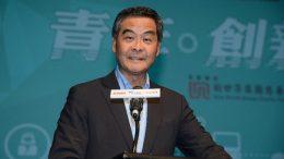 Chief Executive Leung Chun-ying is in hot water over his role in scaling down a public housing plan in Wang Chau, Yuen Long.