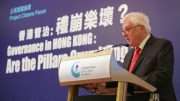 Citing Confucius, last governor Lord Patten says, 'A people without confidence in its rulers will not stand.'