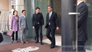Chief Executive Leung Chun-ying is on his last duty visit to Beijing.