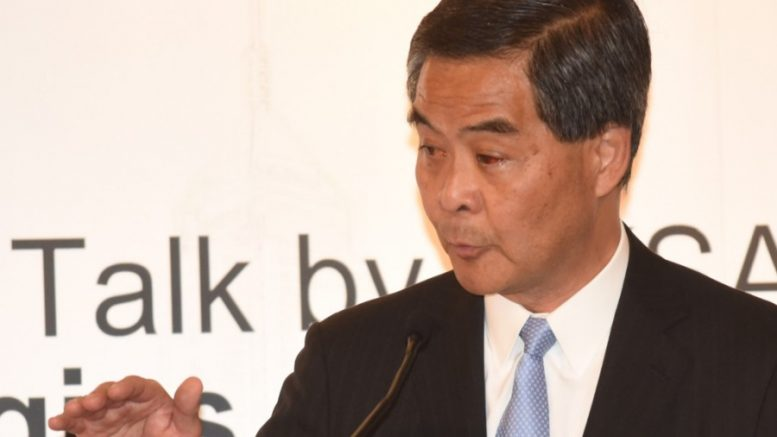 Chief Executive Leung Chun-ying looks set to become a vice-chairman of the Chinese People's Political Consultative Conference this month.