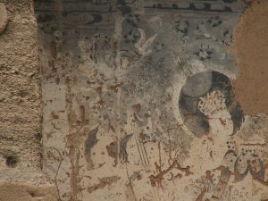 Cave painting in Dunhuang