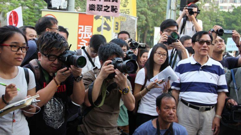 Hong Kong journalists face growing pressure of self-censorship.