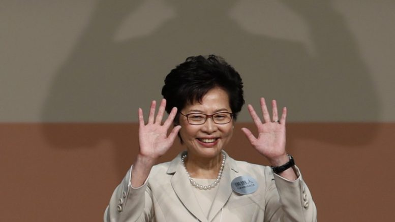 Carrie Lam plays down pro-independence activism in a political gamble aims to get more leeway in her five-year term.
