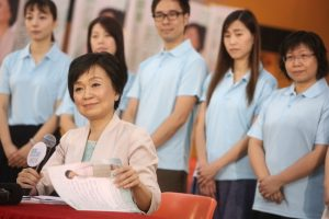 The reported appointment of Christine Choi as deputy education minister causes a stir.
