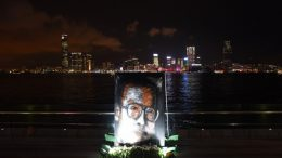 Democratic Party member Howard Lam claimed he was abducted and tortured by mainland agents for his attempt to send a postcard with the signature of Lionel Messi to Liu Xia, wife of late Chinese dissident Liu Xiaobo. Supporters of Liu mourned his death at the Victoria Harbour.