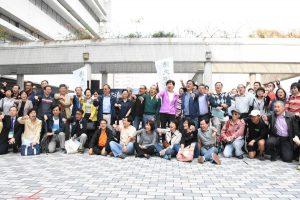 HKU alumni protest against management.
