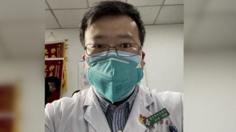Dr Li Wenliang, a Wuhan doctor who was the first to tell the world of the outbreak of a deadly virus in the central city, dies of infection of coronavirus.