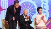 The rivalry between former chief executive C Y Leung and Chief Executive Carrie Lam has become intriguing. Pic: Eyepress