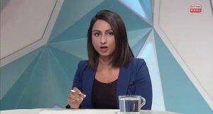 Nabel, the RTHK reporter in headlines.