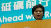 Carrie Lam vows to restart Hong Kong.
