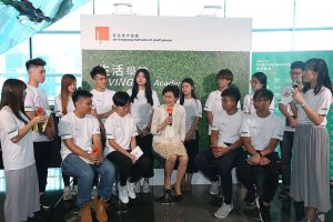Carrie Lam talking to young people just a show.