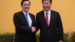 History in the making as Xi Jinping shakes hand with Ma Ying-jeou