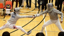 Out of a sense of brotherhood, John Tsang teaches fencing at his alma mater La Salle College. He says that sense has a lot of similarities with 'localism.'
