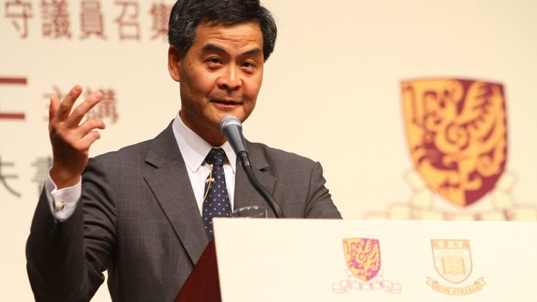 Legislative Council member Frederick Fung Kin-kee says Chief Executive Leung Chun-ying has a lot to learn from Taiwan's president-elect Tsai Ing-wen about humility.