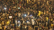 Verbal and physical violence in protest are escalating in Hong Kong. Police used teargas to clear protests in Occupy Central movement.