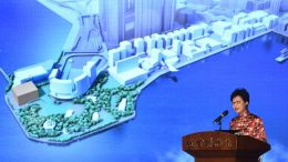Chief Secretary Carrie Lam Cheng Yuet-ngor, tipped as a chief executive contender, seals a deal to loan exhibits at Beijing's Palace Museum at the West Kowloon Cultural District, a centerpiece of the 20th anniversary of the 1997 handover.