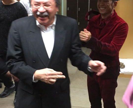 John Tsang, former financial secretary, shows a much-needed humane face of top officials.