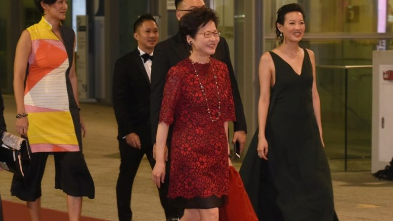 Chief executive contender Carrie Lam Cheng Yuet-ngor, who is seen as the best person to carry on Leung Chun-ying's policy, receives full backing from the Central Government's Liaison Office.
